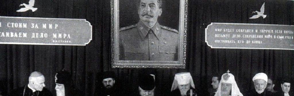 Il patriarca Aleksij I in morte di Stalin