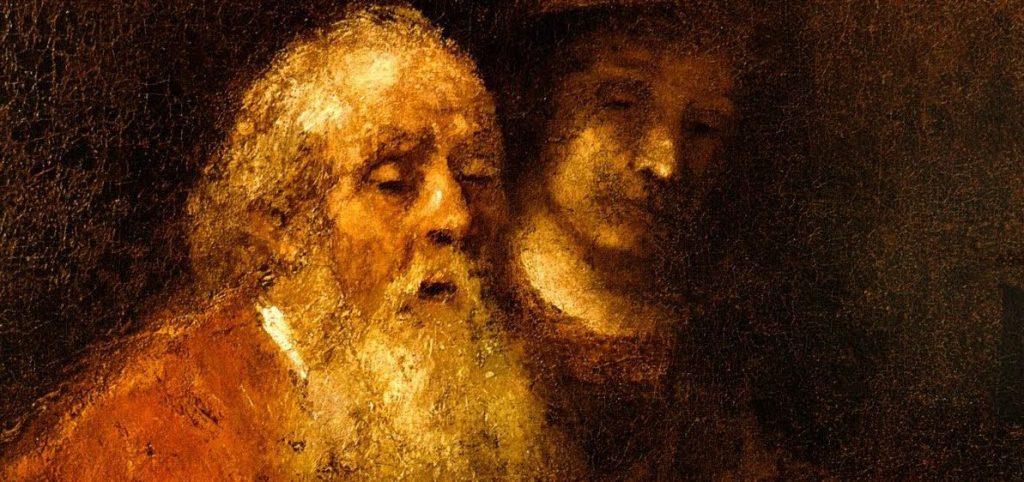 Viaggio a occhi chiusi. Lettere su Rembrandt