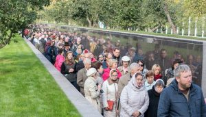 Aperto a Butovo il Giardino della memoria