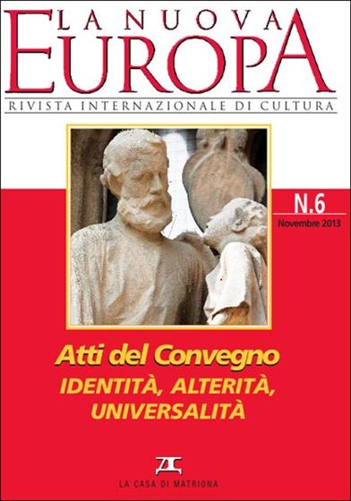 Atti del Convegno: Identità, alterità, universalità (1)