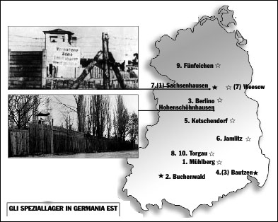 Gli Speziallager sovietici in Germania