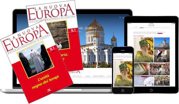 """Abbonamento Annuale """"La Nuova Europa"""" + 2 Quaderni cartacei - ITALIA"""