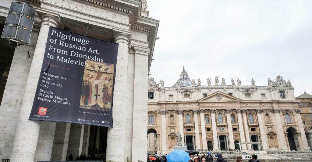 L'anima pellegrina della Russia esposta in Vaticano