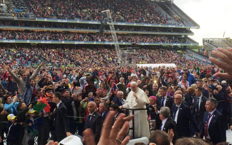 Irlanda, incontri imprevisti nell'incontro con il Papa