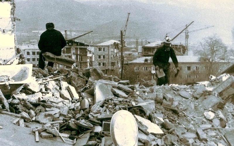 30 anni fa il terremoto in Armenia