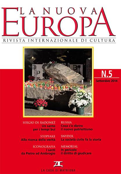 La Nuova Europa 5/2014 (377)