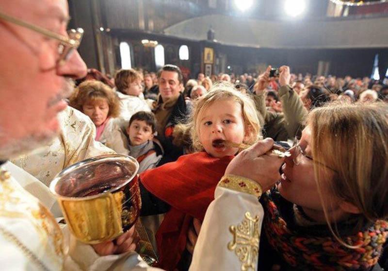 comunione ortodossa covid