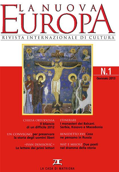 La Nuova Europa 1/2013 (367)