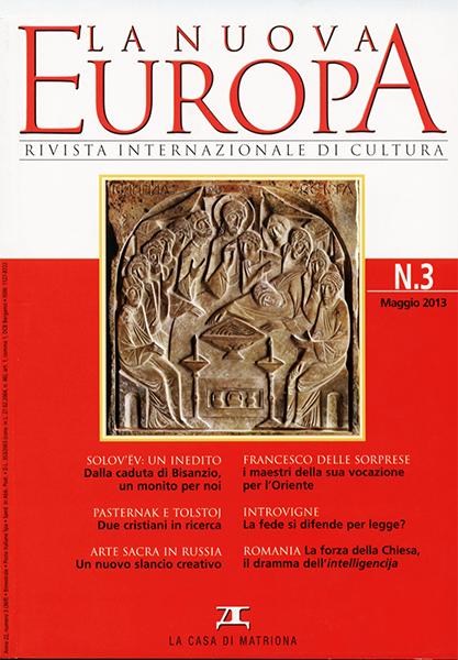 La Nuova Europa 3/2013 (369)