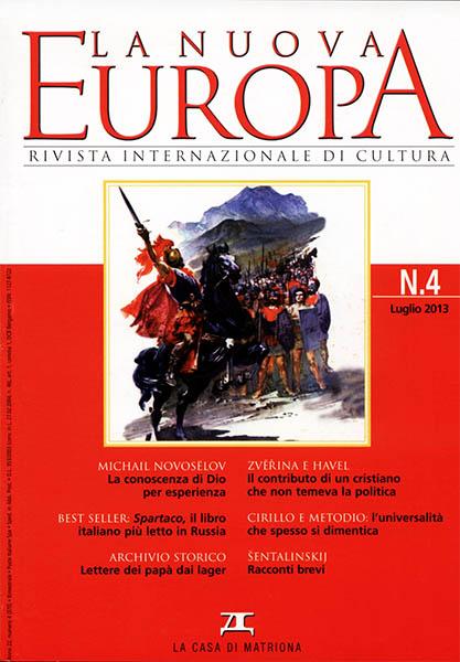 La Nuova Europa 4/2013 (370)