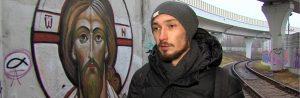 <em>Street art</em> religiosa a Mosca
