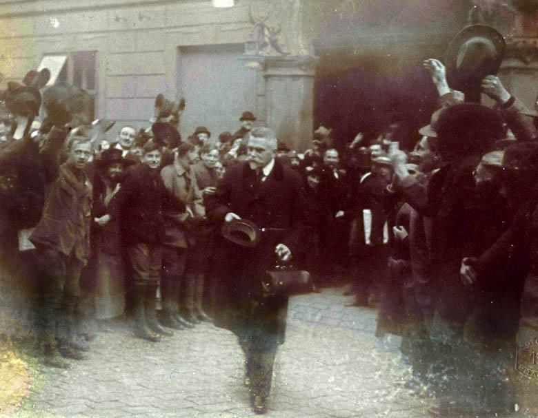 Havel e il «nonno» dell'ortolano dissidente