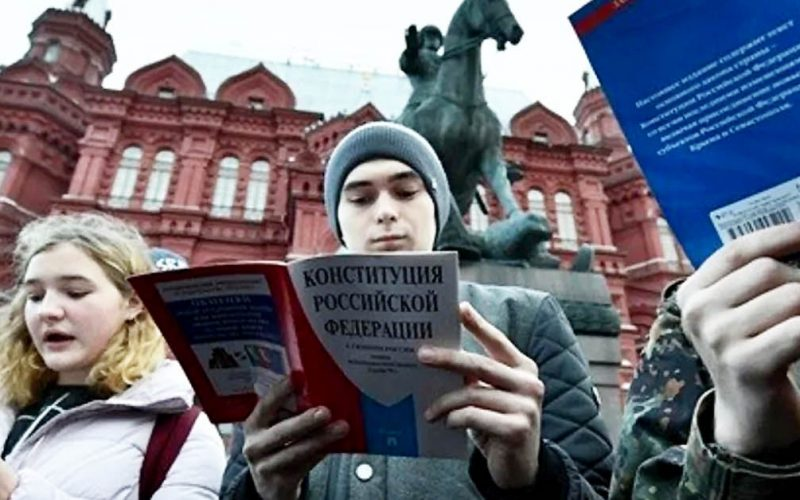 La Russia davanti alla Costituzione nuova