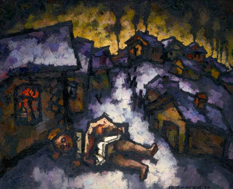La pittura di Oscar Rabin