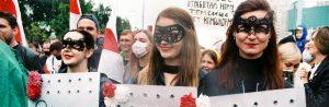 Quello di Minsk non è solo un carnevale